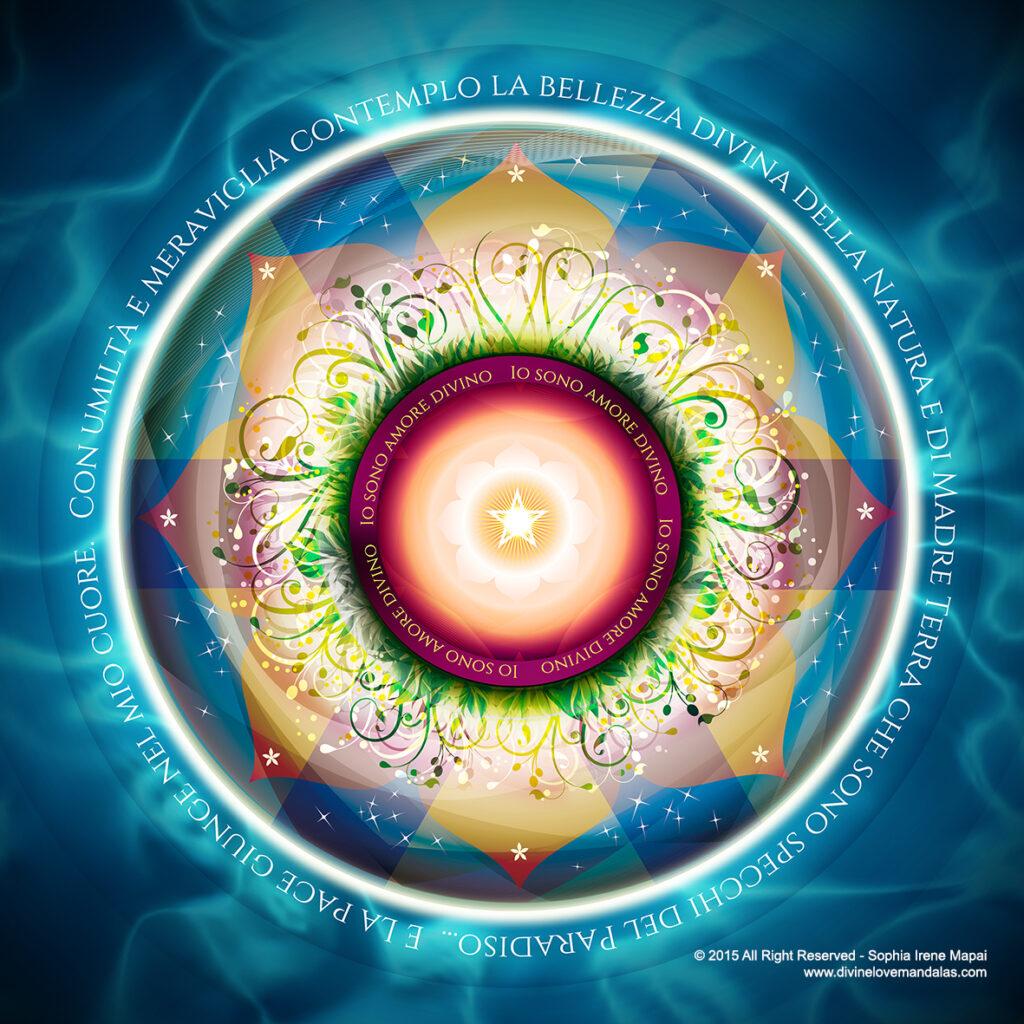 Bellezza divina - Divine Love Mandalas