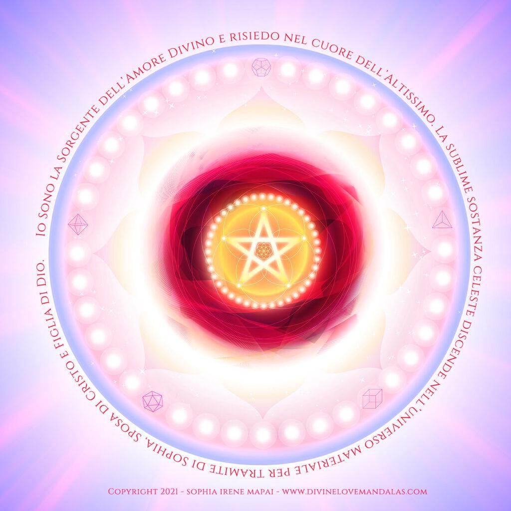 Divine Love Mandalas - Sorgente di Amore Divino